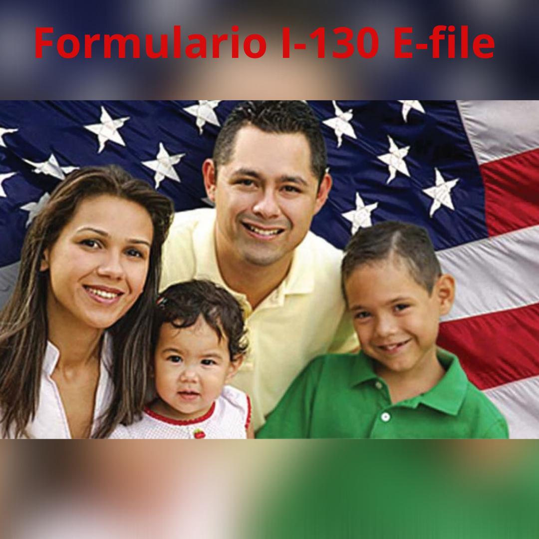 Ahora podrá llenar la petición de familiares (I-130) por Internet!